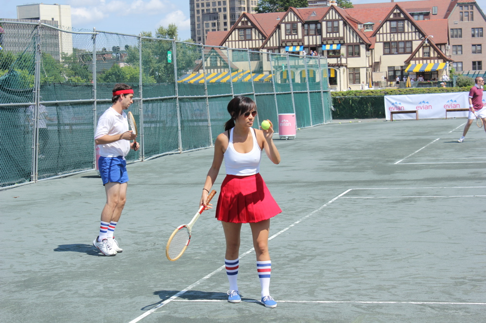 Evians First Annual Wood Racquet Cup  A Perfect Summer -5120