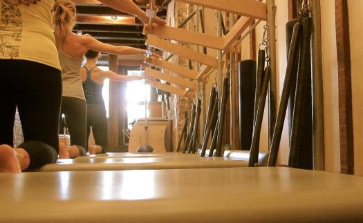 plank pilates class