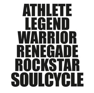 Soul Cycle Saying