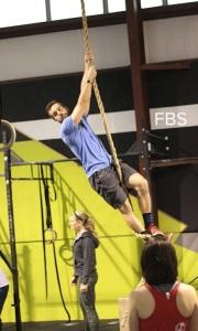 CF Atlantic Rope climb demo