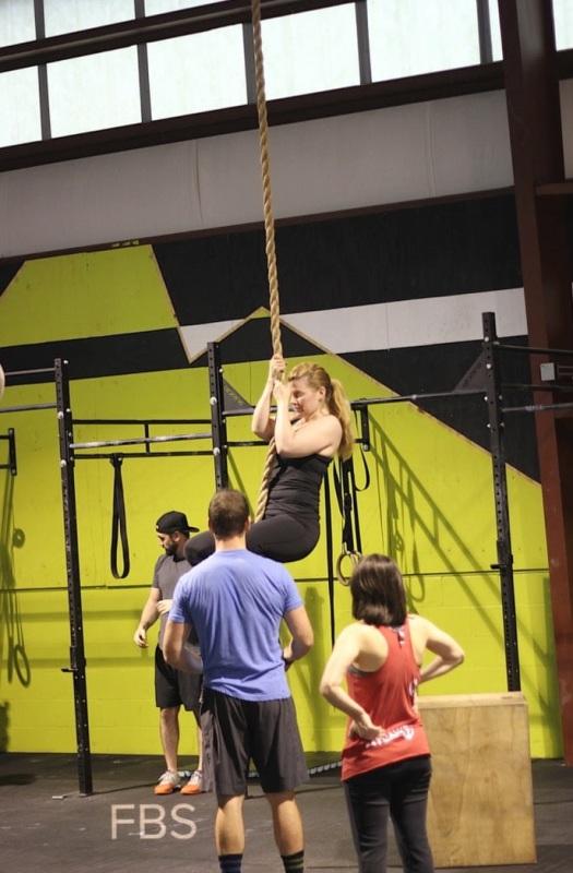 CF Atlantic Rope FBS Rope Climb