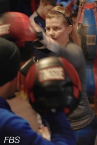Mitt Work at TRinity BOxing