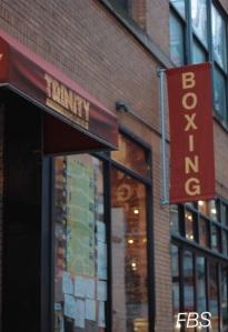 Trinity Boxing Sign