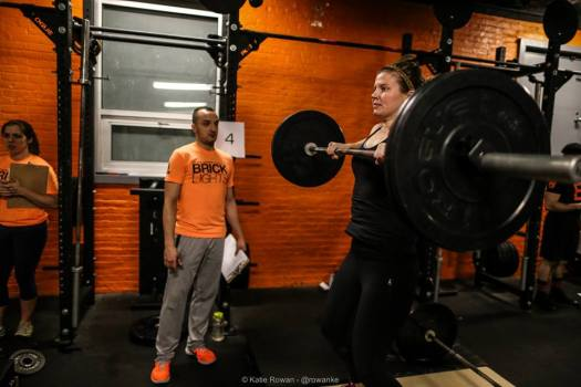 Hang Cleans at Brick NYC