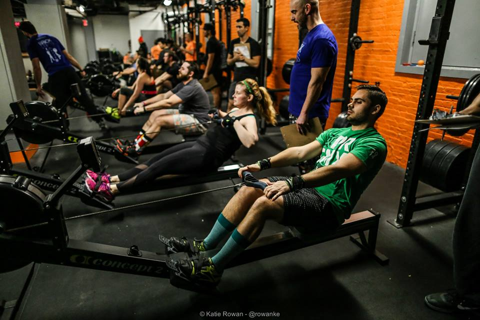 Rowing at Brick NYC